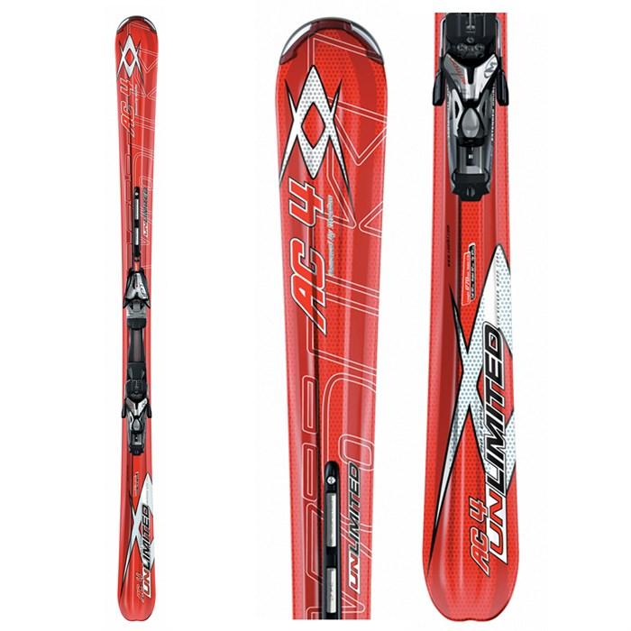 Volkl Unlimited AC4 Ti Skis + Marker Motion IPT 12.0