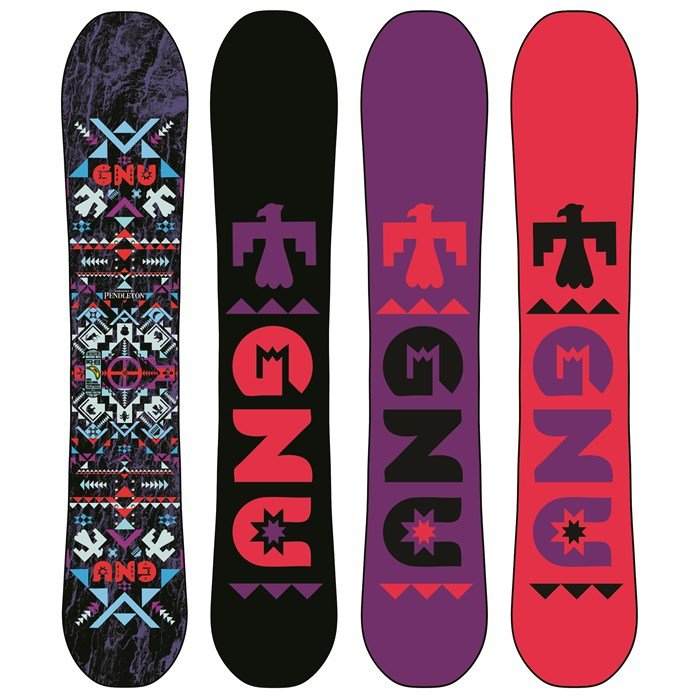 GNU - Beauty C3BTX Snowboard - Women's 2014