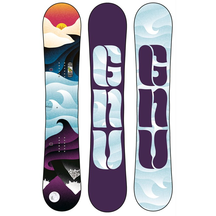 GNU - Ladies Choice EC2PBTX Snowboard - Women's 2014
