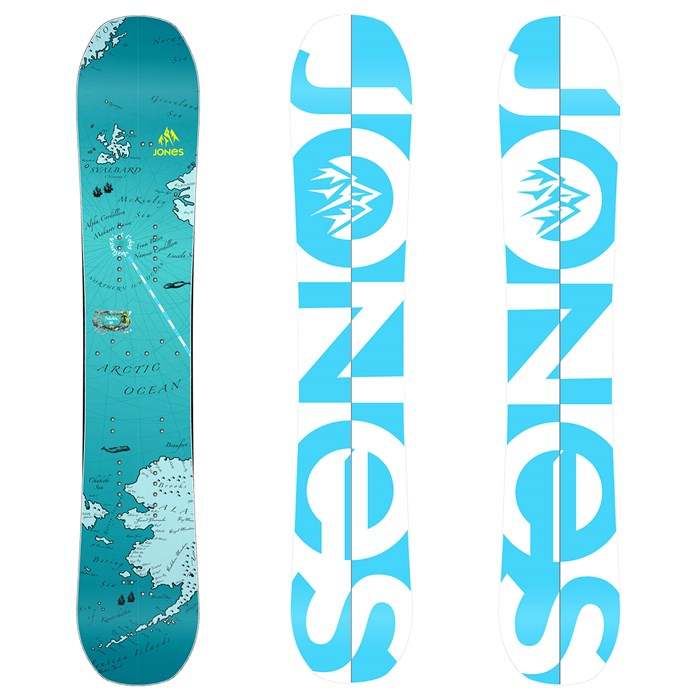 Jones - Solution Splitboard - Women's 2014