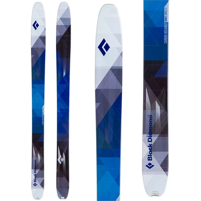 Black Diamond - Carbon Megawatt Skis 2014