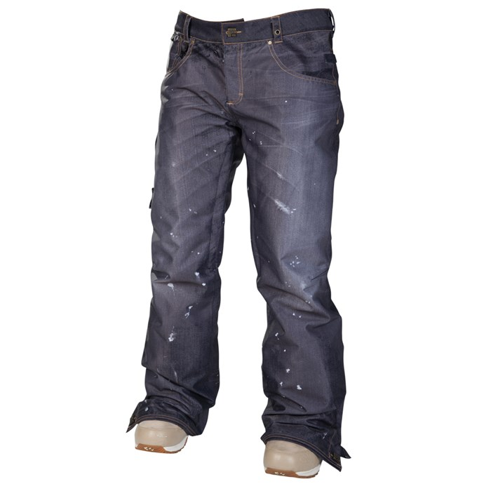 686 - Reserved Destructed Denim Insulated Pants - Women's