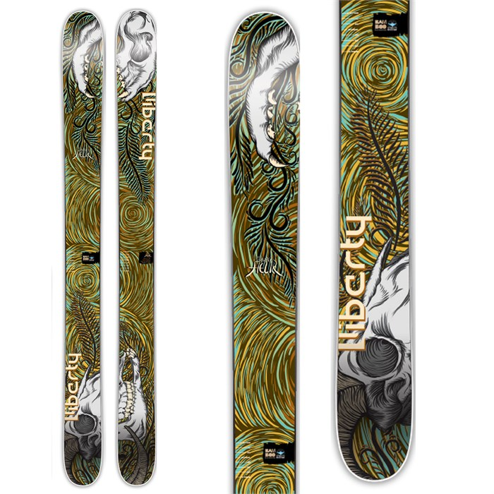 Liberty - Double Helix Skis 2014