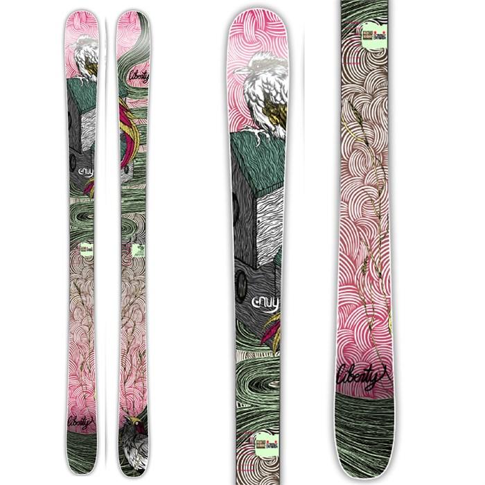 Liberty - Envy All Mountain Skis - Women's 2014