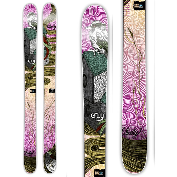 Liberty - Envy Powder Skis - Women's 2014
