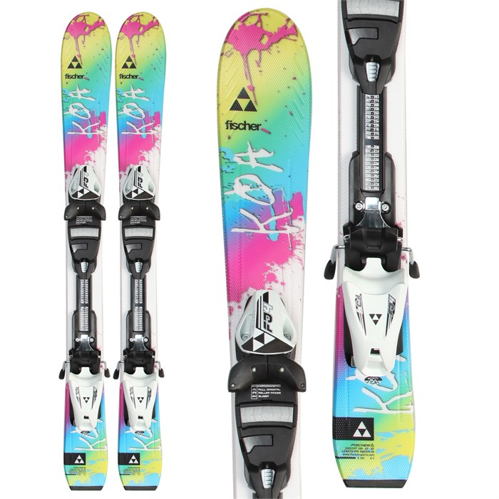 Fischer - Koa Jr. Skis + FJ4 AC Jr. Rail Bindings - Girl's 2014