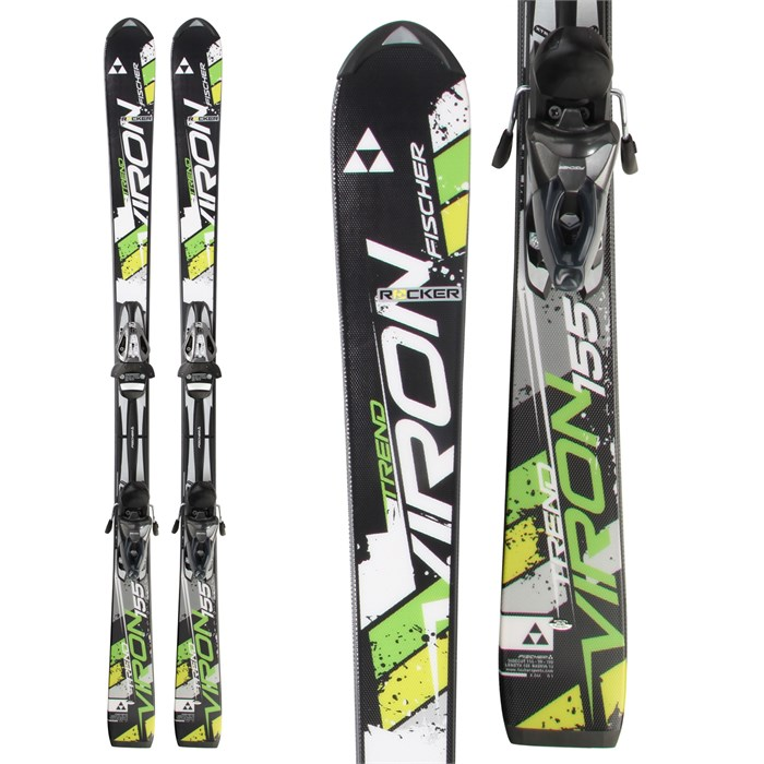 Fischer - Viron Trend Skis + RS 10 Bindings 2014