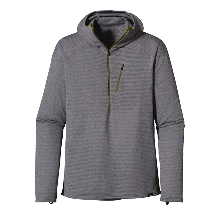 Patagonia - Capilene 4 Expedition Weight 1/4 Zip Hoodie