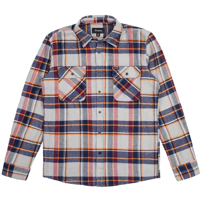 Brixton - Bowery Button-Down Flannel Shirt