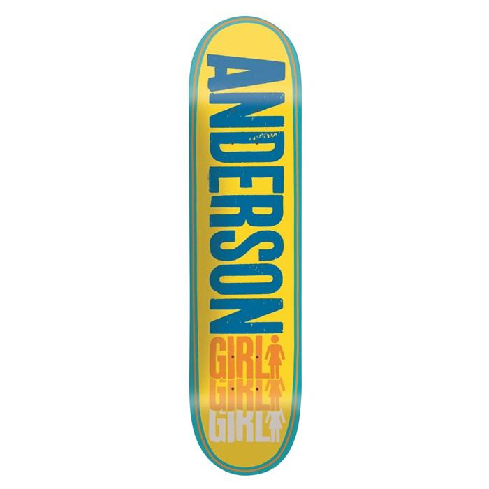 Girl - Anderson Triple OG Skateboard Deck
