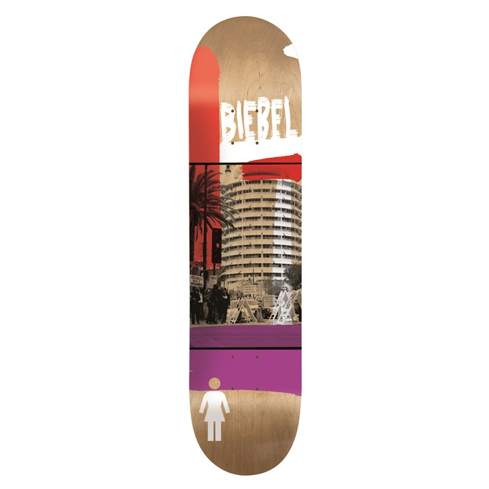 Girl - Biebel Darkroom 7.875 Skateboard Deck