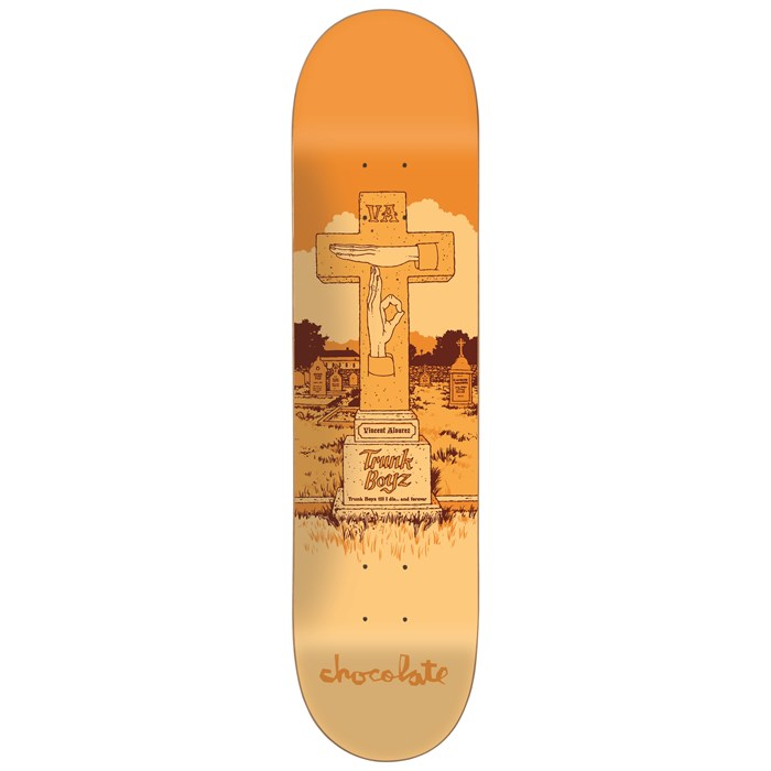 Chocolate - Alvarez Tombstone 8.125 Skateboard Deck