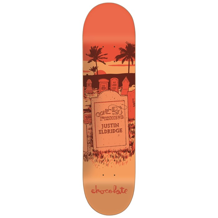 Chocolate - Chocolate Eldridge Tombstone 8.0 Skateboard Deck