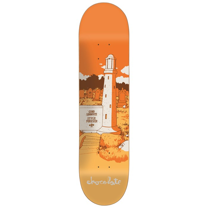 Chocolate - Iannucci Tombstone Skateboard Deck