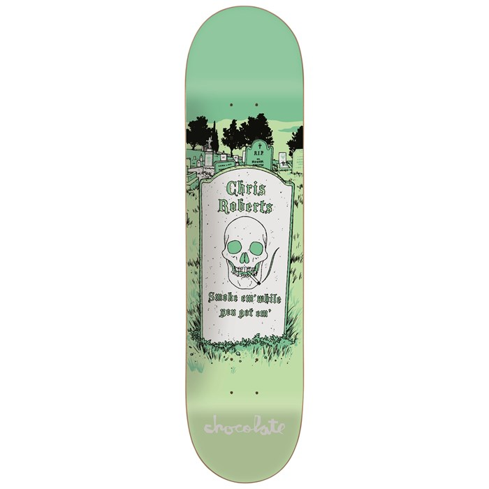 Chocolate - Roberts Tombstone 8.0 Skateboard Deck