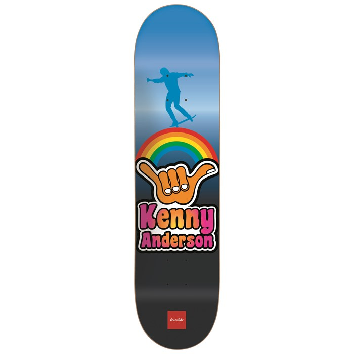 Chocolate - Anderson Hang Loose 8.125 Skateboard Deck