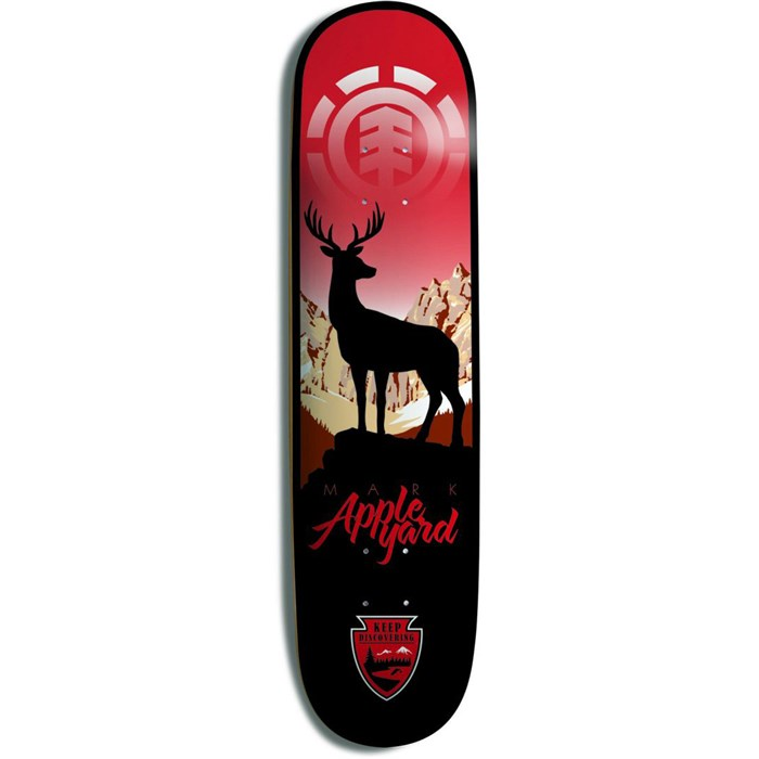 Element - Appleyard Never Stop Discovering 8.0 Skateboard Deck