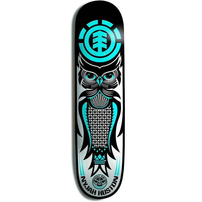 Element - Nyjah Night Owl Skateboard Deck