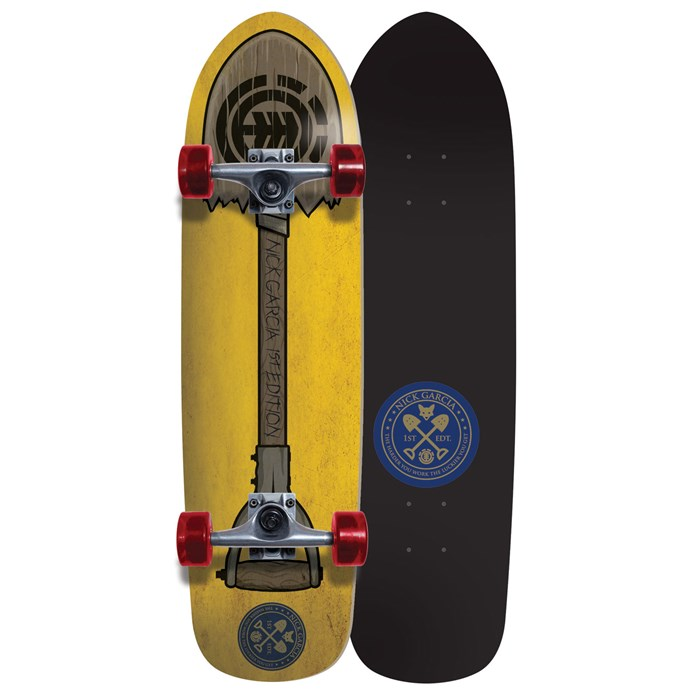 Element - Garcia Shovel Longboard Complete