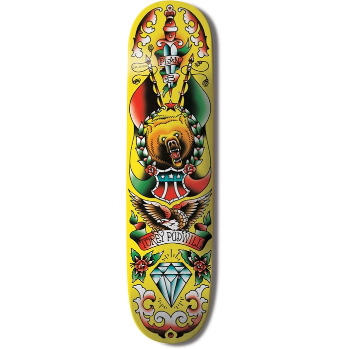 Plan B - Torey Pudwill Color Flash Skateboard Deck