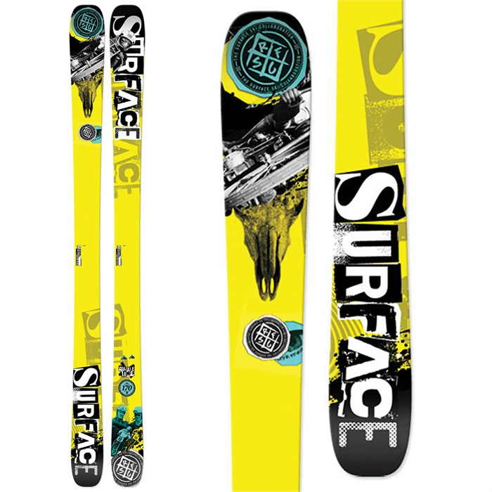 Surface - Double Time Skis 2014