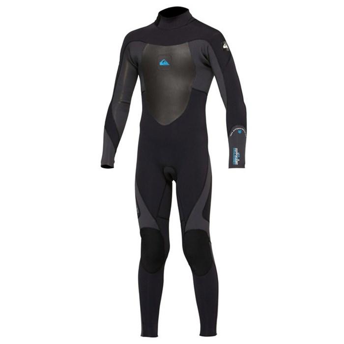 Quiksilver - 3/2 Syncro Back Zip Flat Lock Wetsuit - Boy's