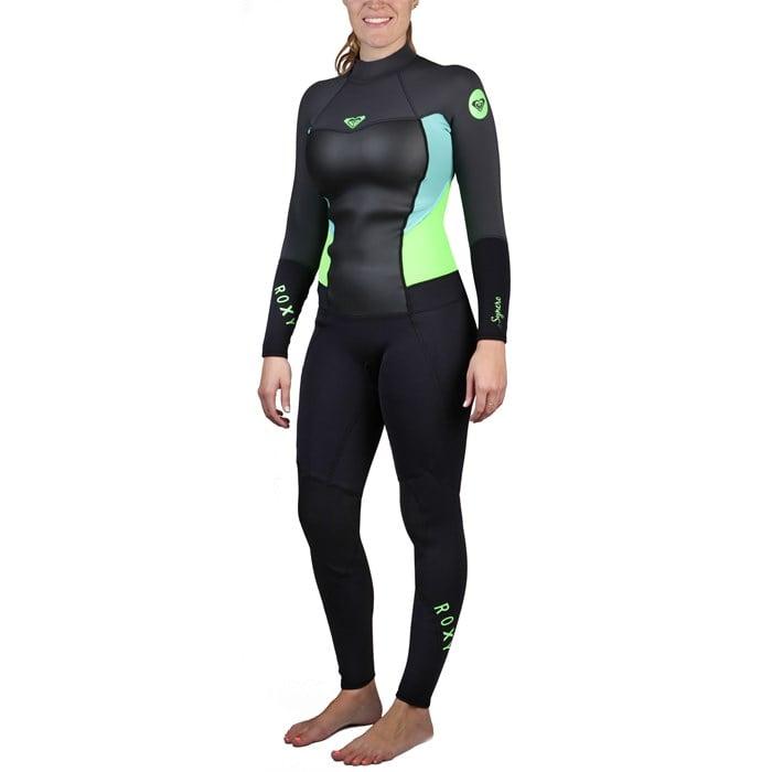 Roxy - 3/2 Syncro Back Zip Flat Lock Wetsuit - Women's