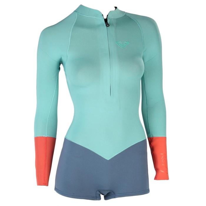 Roxy - K Meador 2 mm Front Zip Long-Sleeve Spring Wetsuit - Women s ... d7b811948