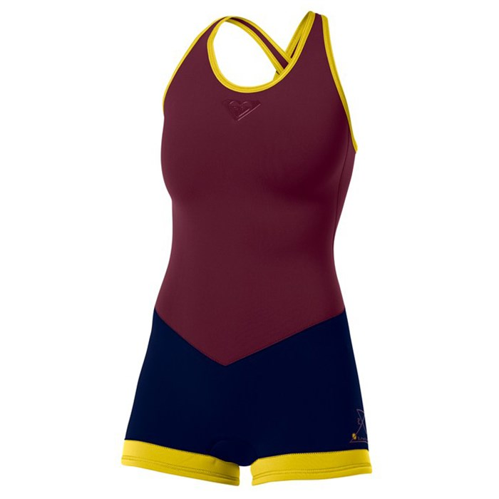 Roxy - K Meador 2 mm Cross Back Short John Wetsuit - Women's