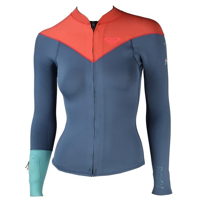Roxy - K Meador 2 mm Front Zip Wetsuit Jacket - Women's