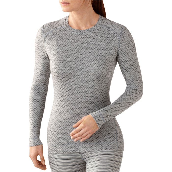 Smartwool - NTS 250 Midweight Pattern Crew Top - Women's