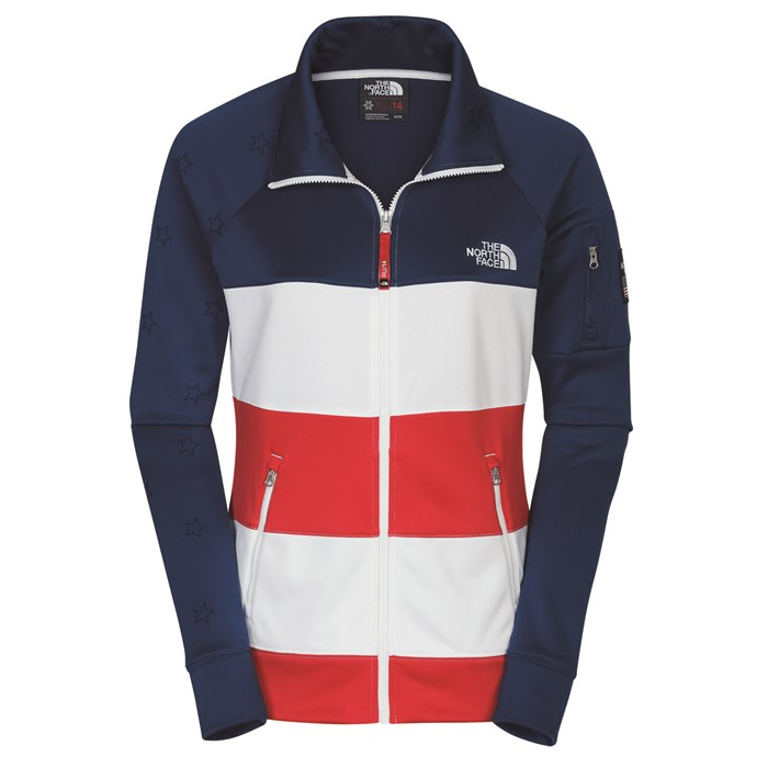The North Face - International Collection Full Zip Cadet Sweatshirt - Women's