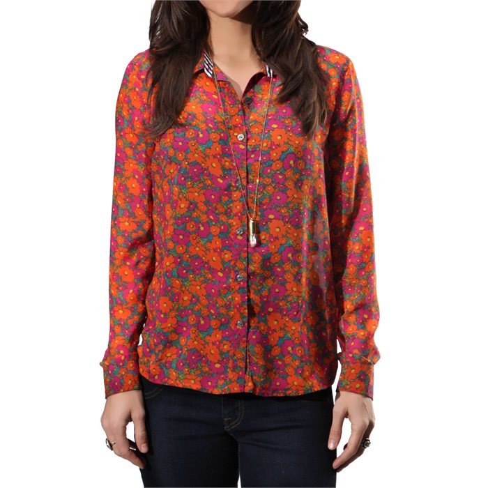 Volcom - Not So Classic L/S Button Down Shirt - Women's
