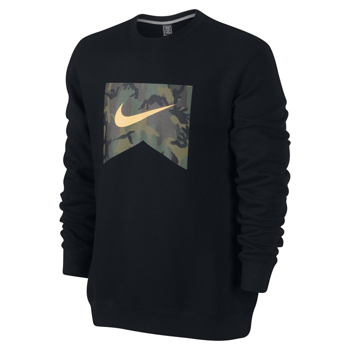 Nike - Foundation Camo Fill Crew Sweatshirt