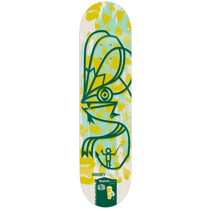Alien Workshop - Alien Workshop M. Taylor Sketchbook 8.0 Skateboard Deck