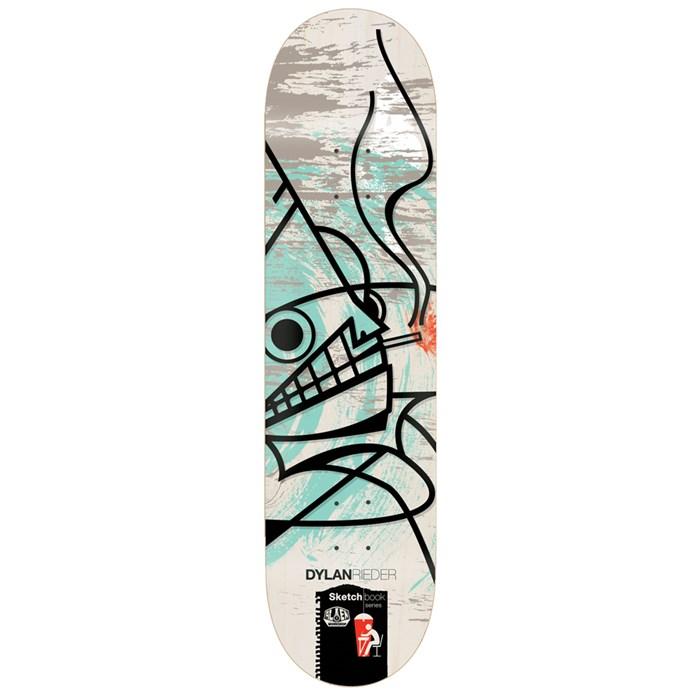 Alien Workshop - Rieder Sketchbook 8.25 Skateboard Deck