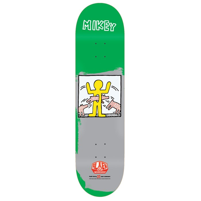 Alien Workshop - M. Taylor Haring II 8.125 Skateboard Deck