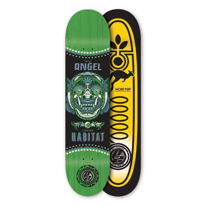 Habitat - Angel Bali Mask Skateboard Deck