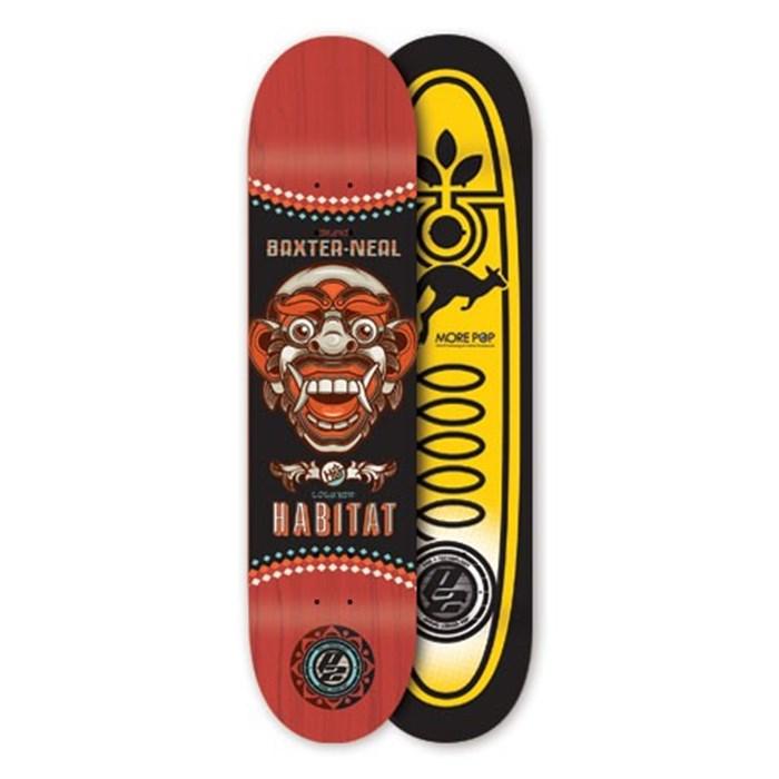 Habitat - Silas Bali Mask Skateboard Deck
