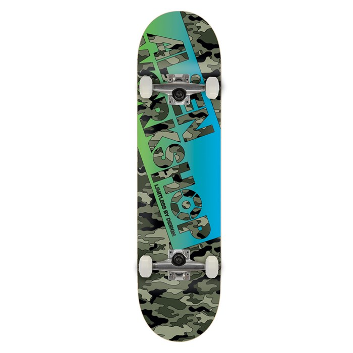 Alien Workshop - Camo Filmworks Skateboard Complete