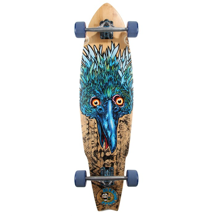 Freedom Dolly - The Blue Beak Longboard Complete