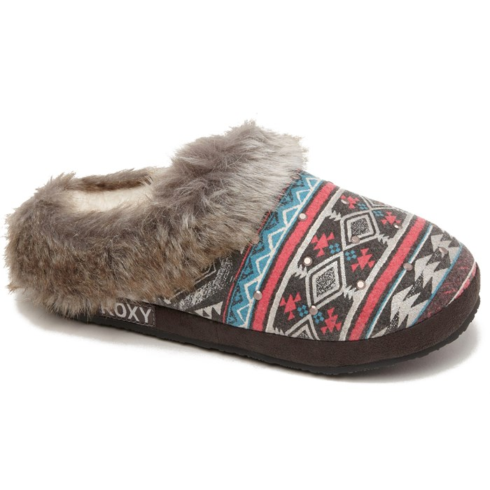 Roxy - Roxy Hazelnut Slippers - Women's