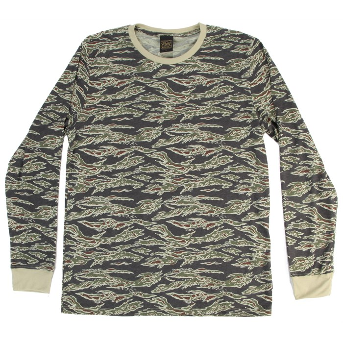 Obey Clothing - Camo Long-Sleeve Top