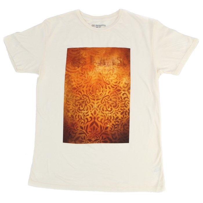 Obey Clothing - Shepard Floral Stencil T-Shirt