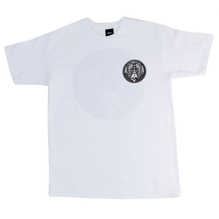 Obey Clothing - Skull And Wings T-Shirt