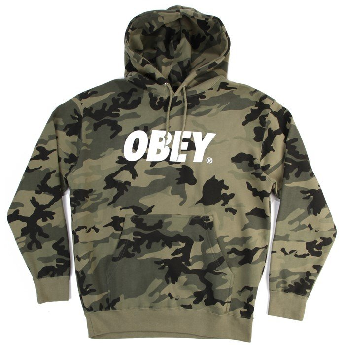 Obey Clothing - Obey Clothing Font Pullover Hoodie
