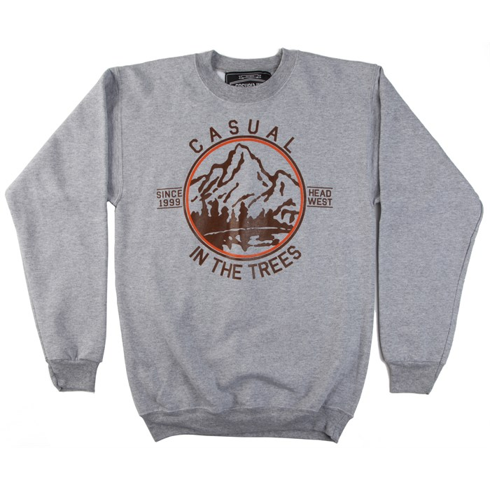 Casual Industrees - In The Trees Crew Neck Fleece