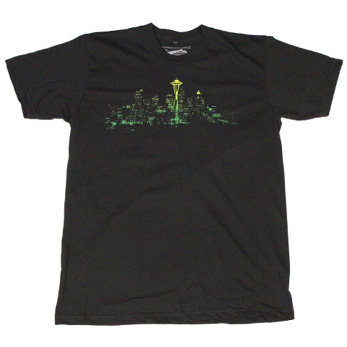 Casual Industrees - Seattle Lights Fade T-Shirt