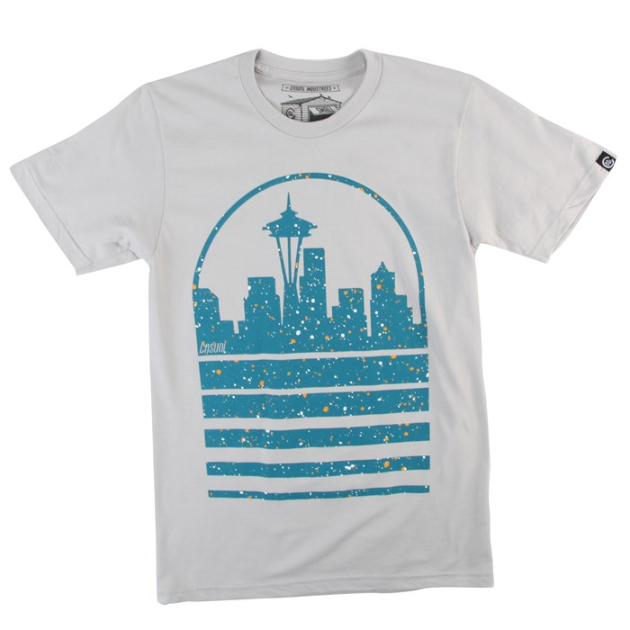 Casual Industrees - Seattle Sky Speckle T-Shirt