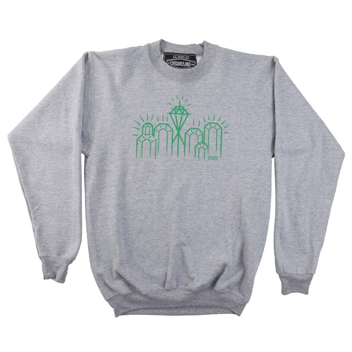 Casual Industrees - Emerald City 2 Crew Neck Fleece